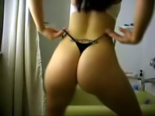 Culona molto sexy sul webcam